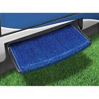 Camper Step Rug, Jumbo Wraparound Plus, Imperial Blue, 23