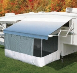 Awning Screen Room - 20'-Add A Room LTD - White