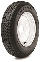 Americana Tires & Wheels 175/80D13 C/5H SPK WH STR