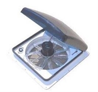 Zephyr Hi-Performance Roof Vent, White Vent Lid