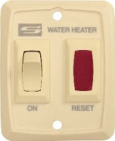 Suburban Mfg Water Heater Power Switch - Cream