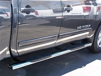 2004-2015 Titan Crew Cab-Stainless Steel Side Bars
