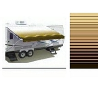 Sierra Brown 14' Carefree Awning Replacement Fabric