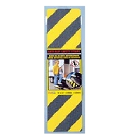 RV Anti-Slip Safety Grit StripYellow\Black 6 inch x 21 inch