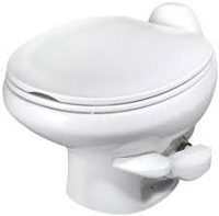 Thetford Aqua Magic Style II Low Profile With Water Saver Rv Toilet White