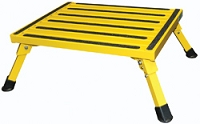 Yellow Folding RV Step - 15