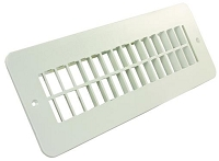 JR Products Heating/ Cooling Register - White