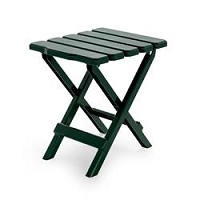 Small Green Folding Table