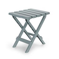 Small Grey Folding Table