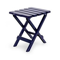 Small Navy Folding Table