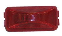 #150 PC Rated Clearance Side Marker Lights Red