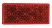 RV 483 Rectangle Reflector, Red