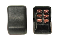 Double Pole Double Throw Rocker RV Switch