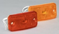 RV Clearance Marker Lights, Red