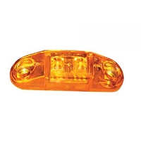 Slim-Line Clearance/Side Marker Light, Amber