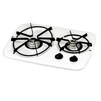 Atwood Vision Drop-In Cooktop 3-Burner White  56470