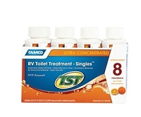 RV Toilet Treatment -TST Orange Power- 8-4oz. Bottles