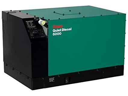 Onan Generator Quiet Diesel 6000w