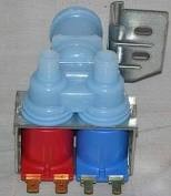 Dual Port Water Valve for Ice Maker and Water Dispenser