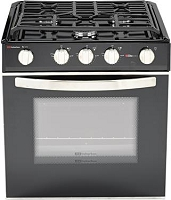 Suburban Mfg  Stove; Elite  3 Burners; With Deluxe Grate