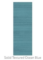 Ruggable Solid Textured Ocean Blue 2-1/2 Foot x 7 Foot
