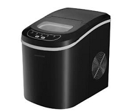 CONTOURE PORTABLE ICE MAKER-BLACK