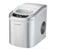 CONTOURE PORTABLE ICE MAKER-SILVER