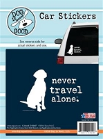 Decal 19001CS Never Travel Alone