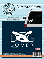 Decal 19005CS Dog Lover