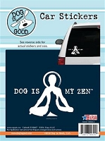 Decal 19006CS Dog Is My Zen