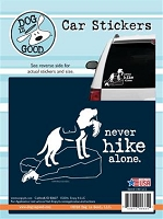 Decal 19012CS Never Hike Alone