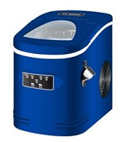 CONTOURE PORTABLE ICE MAKER-BLUE