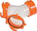 Camper Sewer Hose Swivel Wye-Rhinoflex