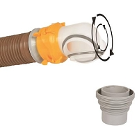 Camco Sewer Hose Connector