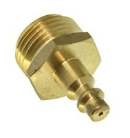 Blow Out Plug w/Quick Connect, Brass