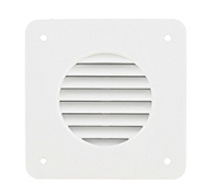 Battery Box Louver White