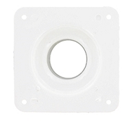 RV Battery Box White Vent Plate