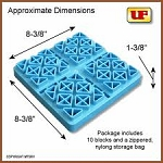 Ultra Leveling Blocks 10PK by Ultra Fab 48-979051