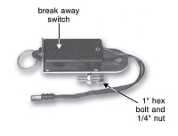 650898, Breakaway Switch, Pin and Ring