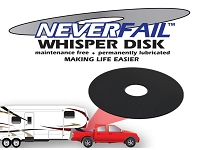 Never Fail Whisper Disk Lube Plate