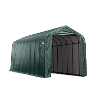 Shelter Logic Green Steel and Polyethylene Garage without Floor
