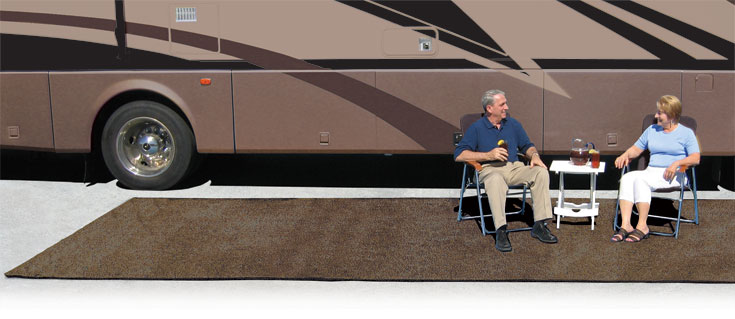 Rv Patio Rugs And Step Wrap Arounds, Rv Reversible Patio Mats