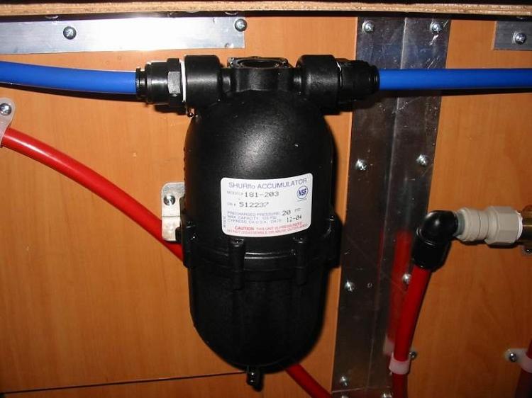 Fresh Water Accumulator Tank 24 Ounce 9 1 Inch Length X
