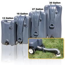 Thetford Smarttote2 Portable Waste Tote Tank 40501 2 Wheels 18 Gallon Capacity