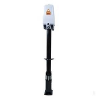 Atwood Power Tongue Jack In White, 3000 lbs