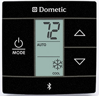 New Bluetooth Dometic Single Zone RV Air Conditioner Thermostat Black