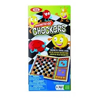 Magnetic-Go Checkers Game