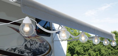 Rv Globe Lights Clear 6 Pack