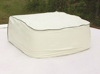 AC Cover White for Coleman Fits Coleman Mach I, II and III