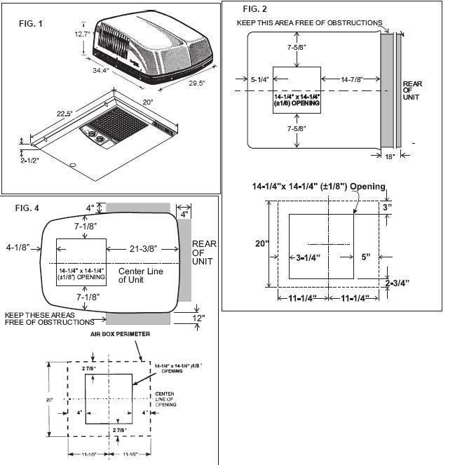 Dometic Air Conditioner Remote manual